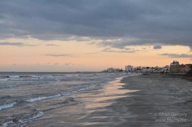 Larnaca naplemente
