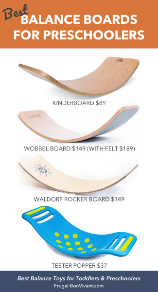 Best Balance Boards for Kids & Preschoolers - kinderboard, wobbel, waldorf, Teeter Popper