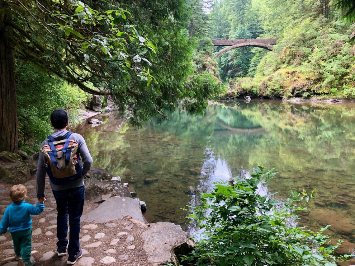 Hiking Moulton Falls