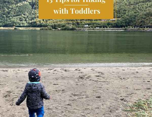 Hiking with Toddlers - Norway fjords