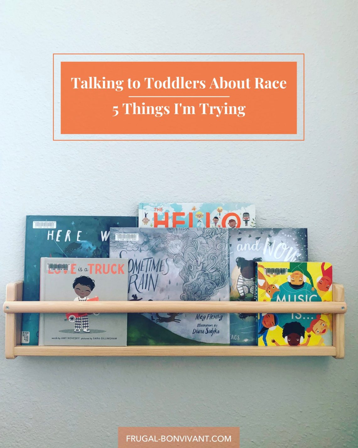 Talking to Toddlers about Race and Racism - 5 Things I'm Trying