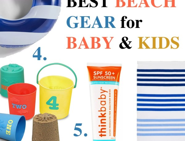 Best Baby & kid beach gear