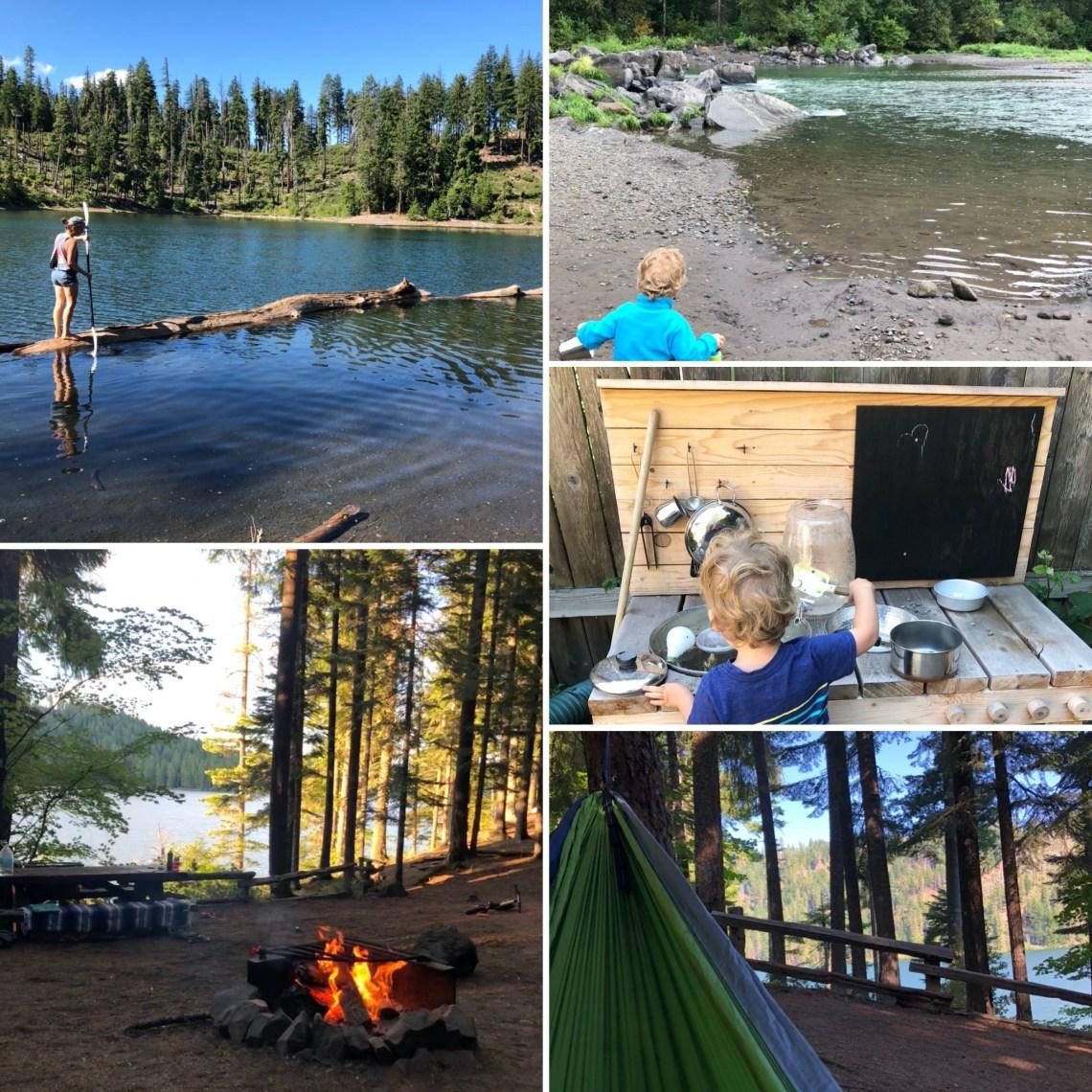 Scout Lake kayaking and Suttle Lake Camping