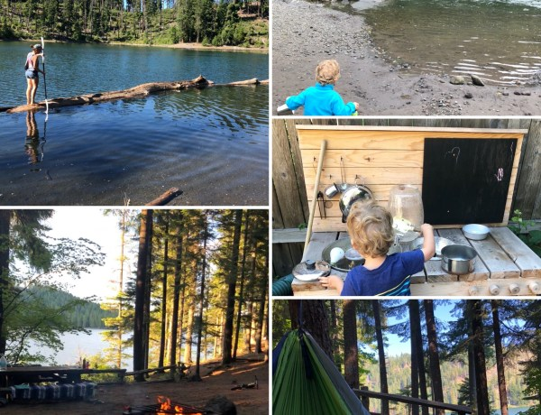Scout Lake kayaking and Suttle Lake Camping