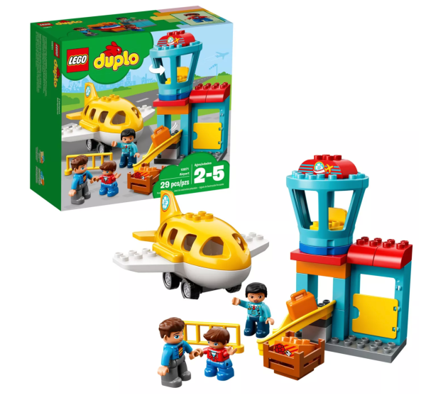 Duplo Airport and plane