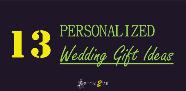 Personalized Wedding Gift Ideas