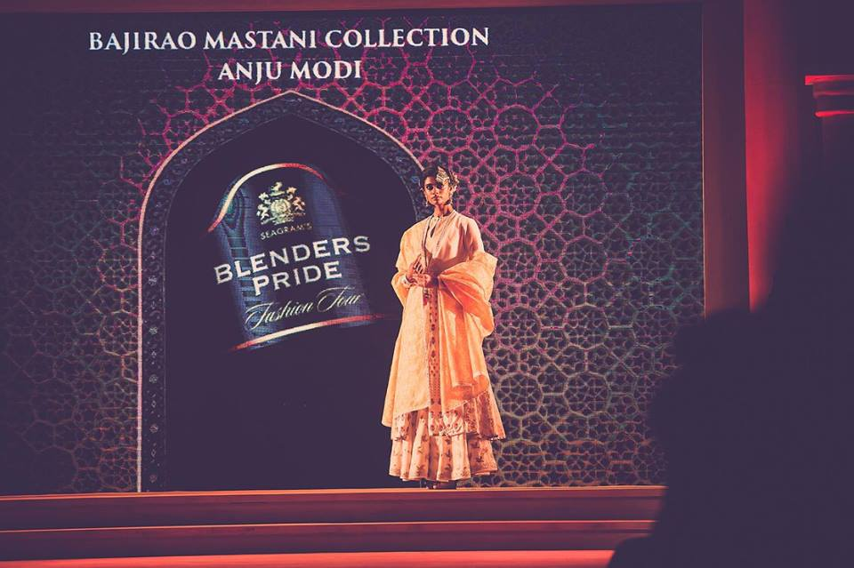 Bajirao Mastani inspired collection by Anju Modi