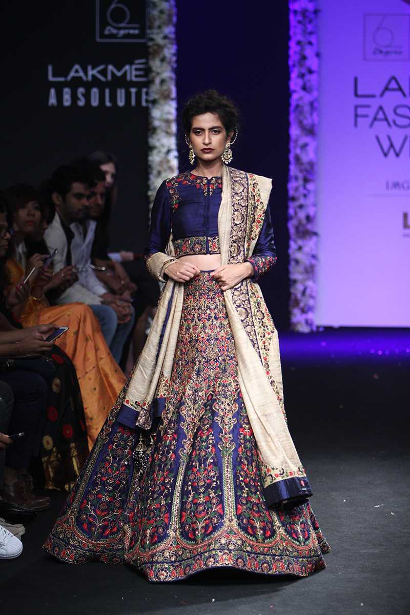 bridal lehengas LFW Winter/Festive 2016