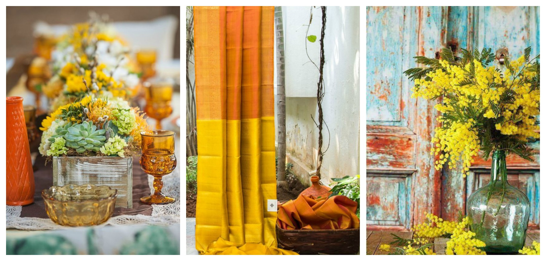Mustard Wedding Inspiration