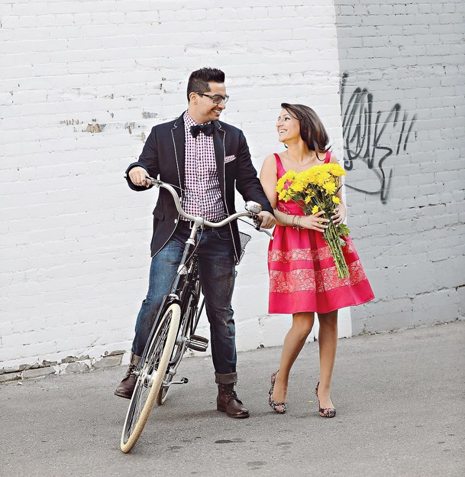 Colourful PreWedding Photoshoot Props