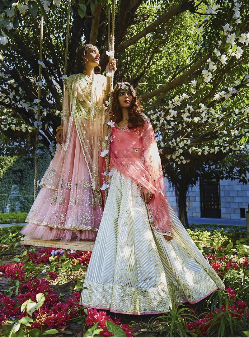 Abhinav Mishra Sister of the Bride Lehengas