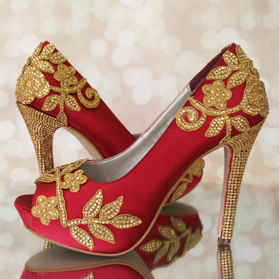 Bridal Shoes India: The Most Beautiful Wedding Shoes And Its Prices