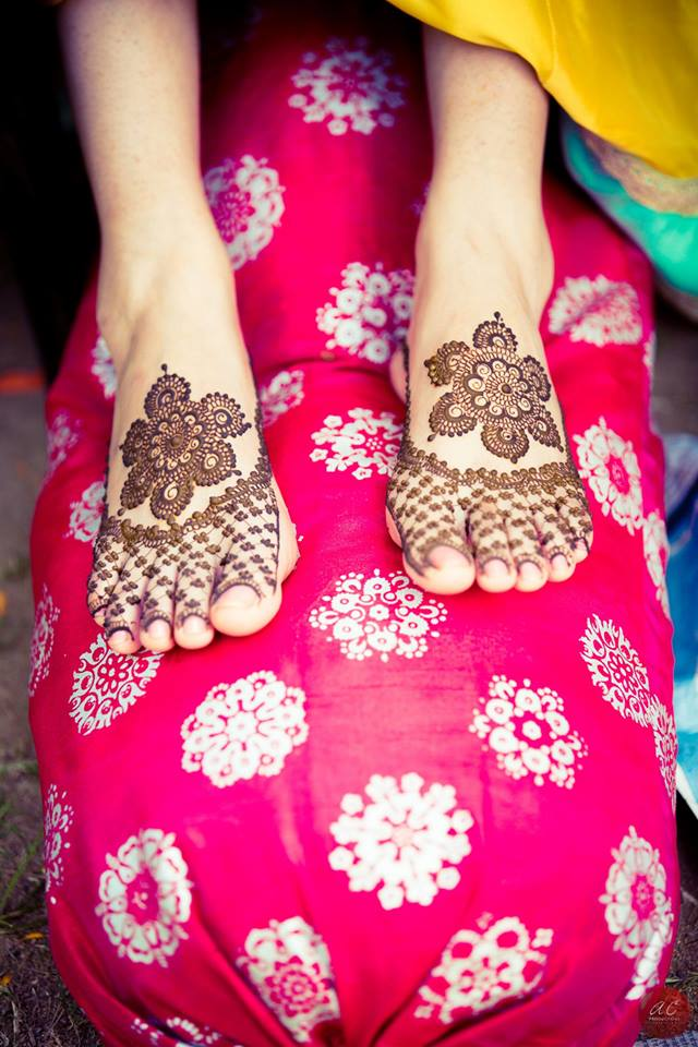 Bridal Foot Mehendi