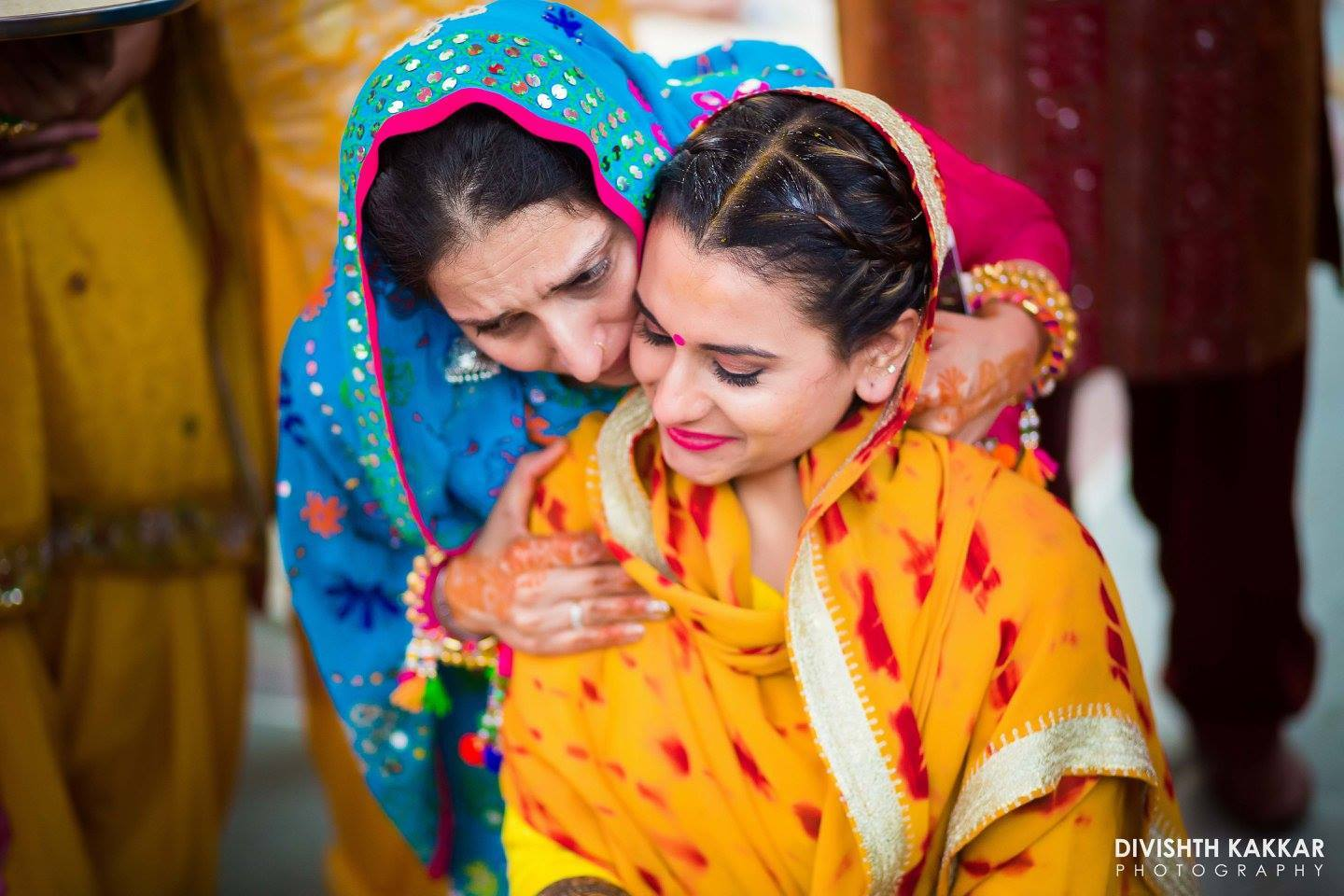 Colourful Weddings