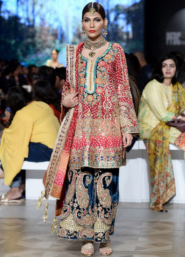 Colourful Bridal Wear