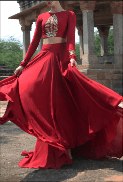 Red Light Lehenga
