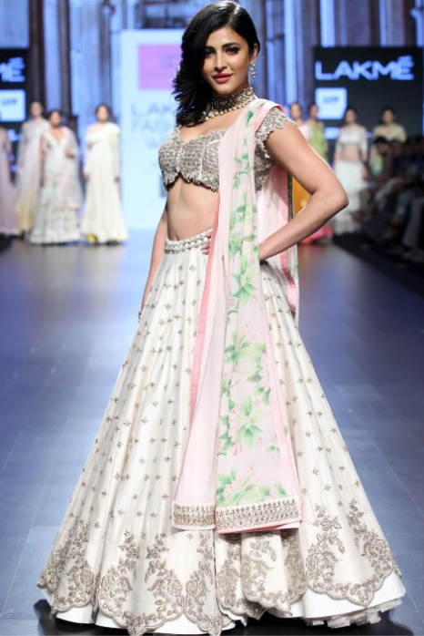 Off White Lehenga Set