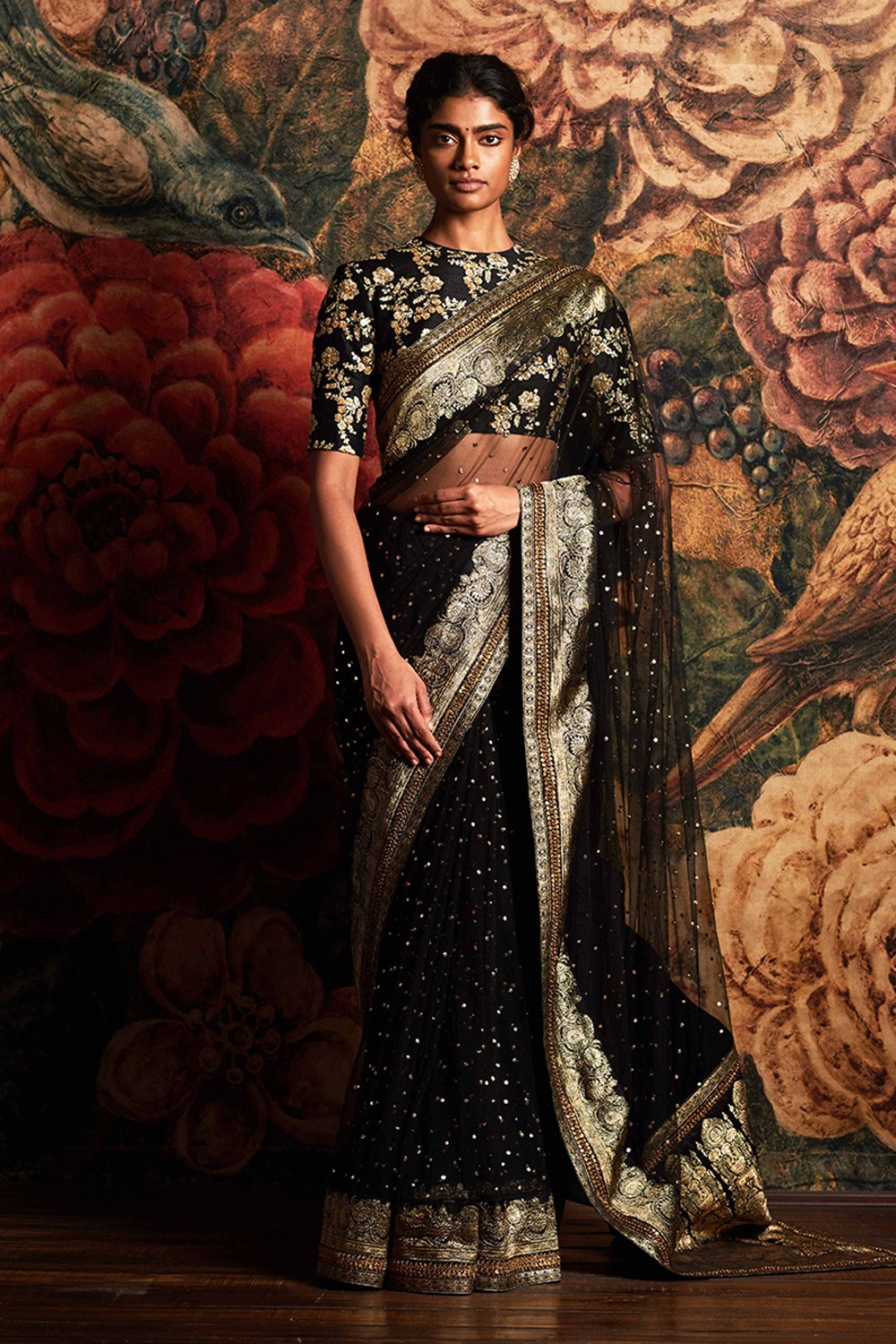 Limited collection HUGE SABYASACHI inspired parties Bollywood Bridesmaid high quality SEQUENCE saree designer saree for reception