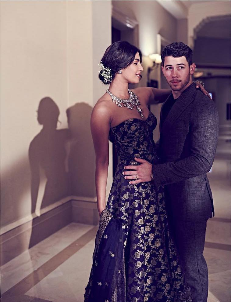 Priyanka Chopra Nick Jonas's Mumbai Wedding Reception