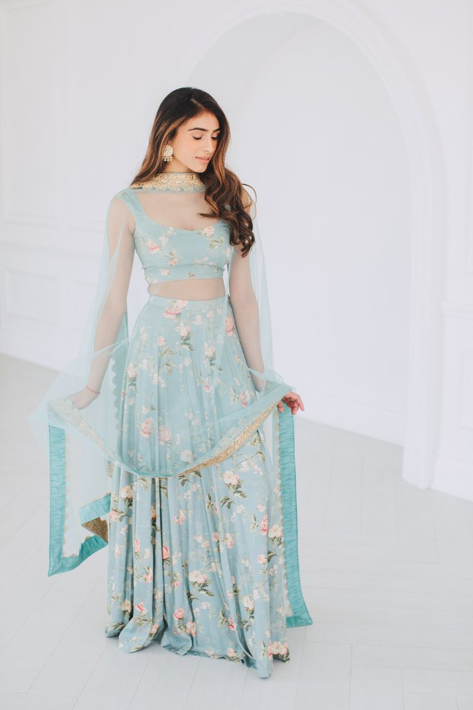 Blue Poppy Lane Lehenga