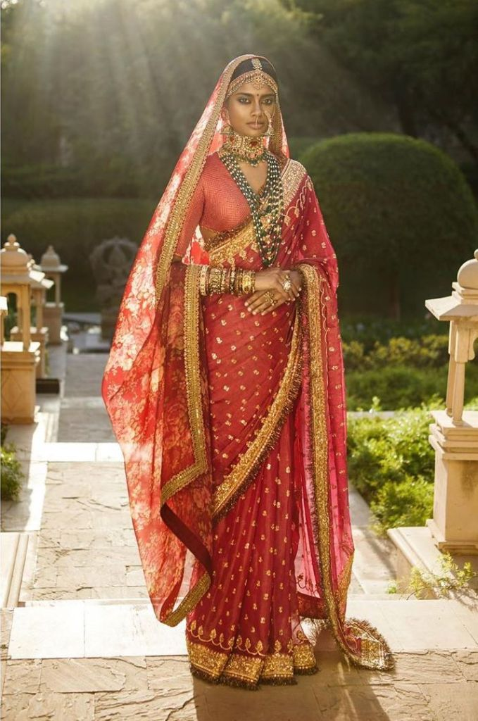 Red Bridal 2019 Sabyasachi Saree