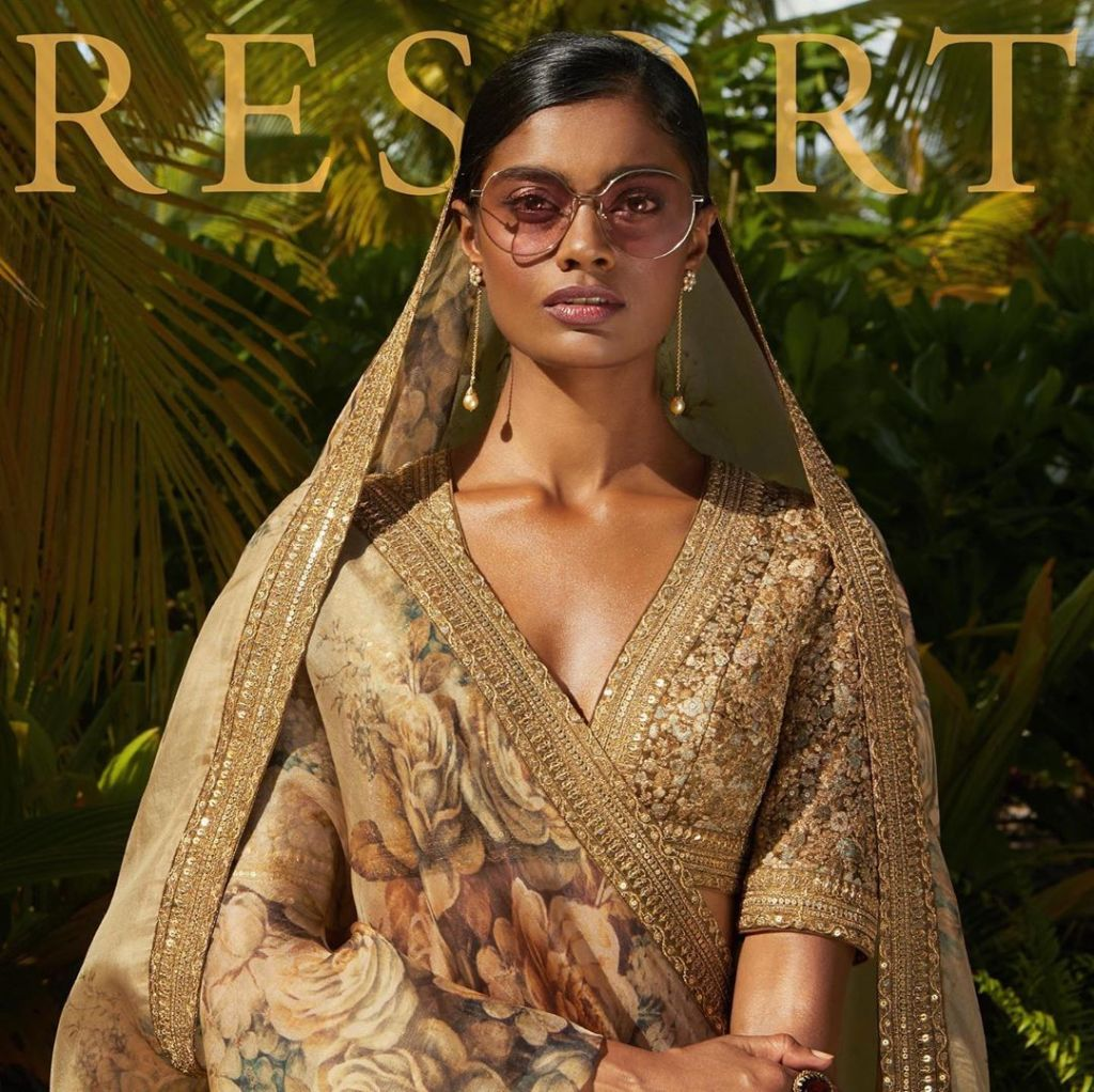 Sabyasachi resort wear lehenga