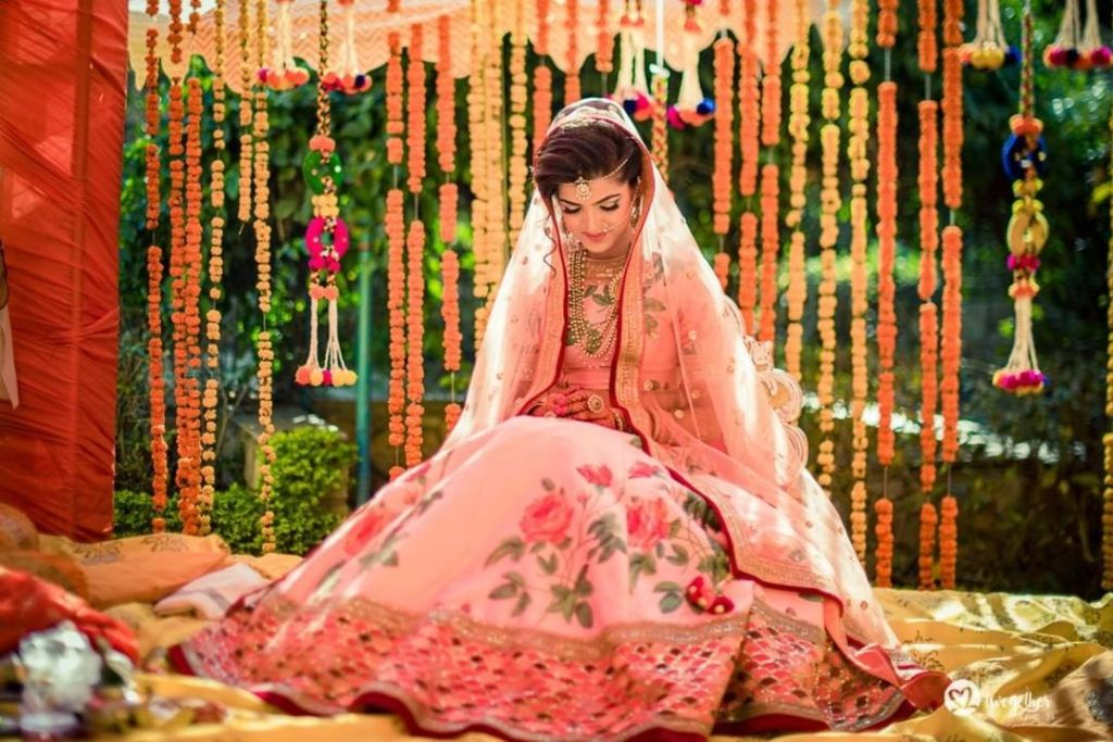 Mussoorie Destination Wedding Sabyasachi Lehenga