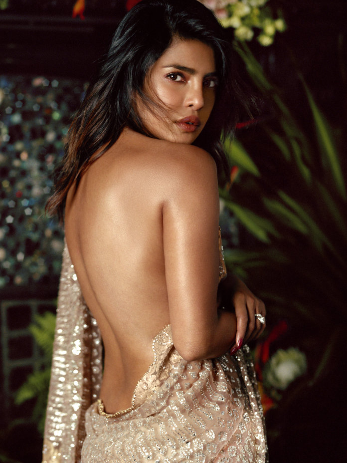 Priyanka Chopra in Tarun Tahilliani