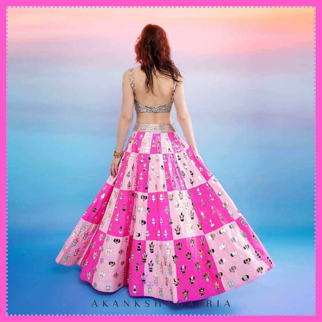 Shop Multi Coloured Lehengas