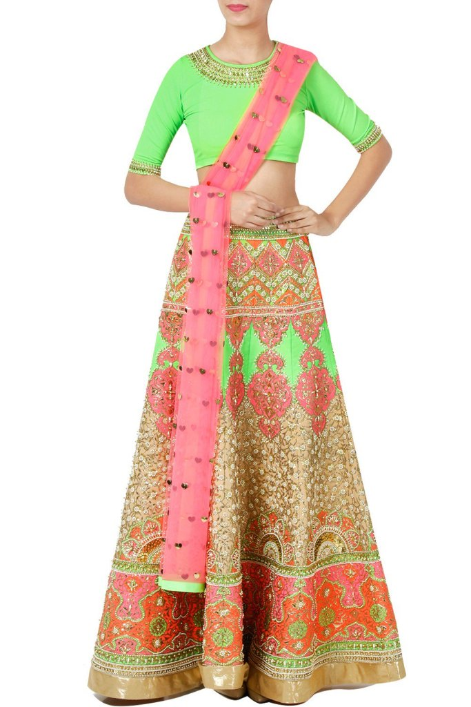 Manish Arora Multi Colour Lehengas