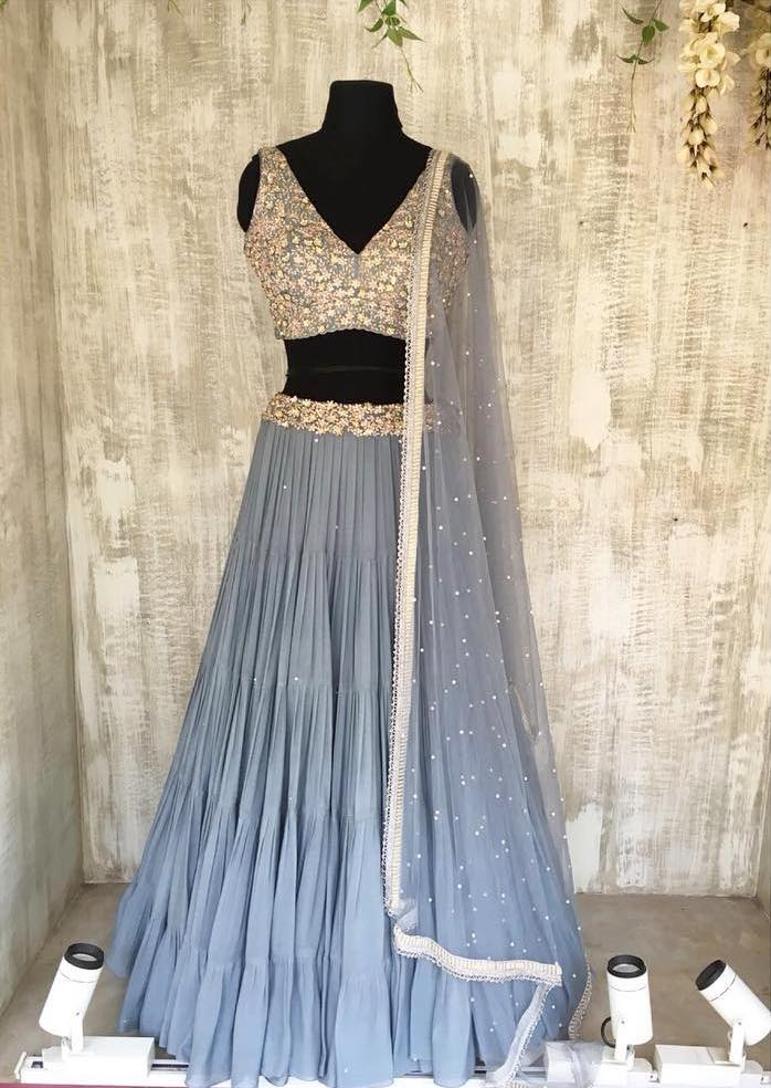 Chamee and Palak Lehenga