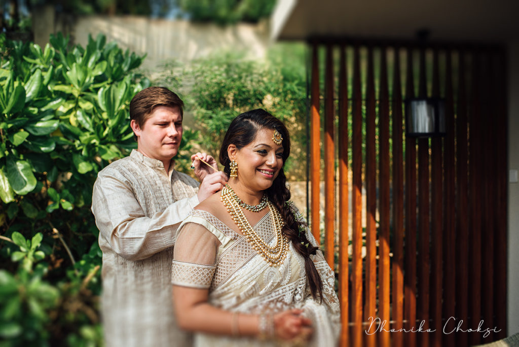 Wedding Saree Styling