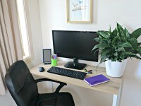 How to Create a Home Office On a Budget and In a Small Space