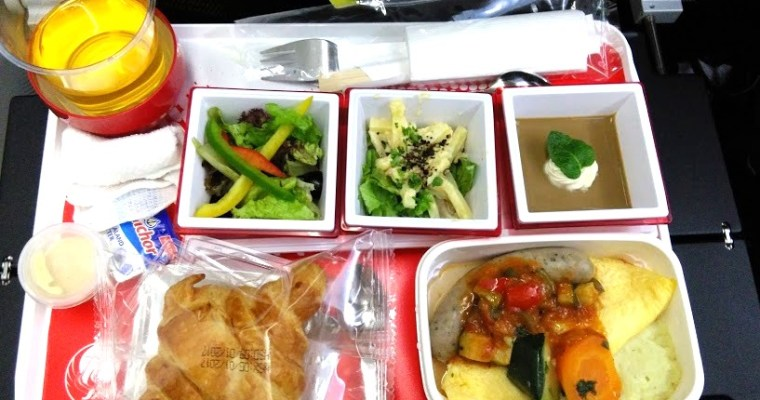Eating Out on the Airplane