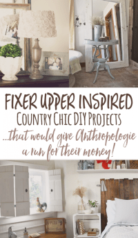 Cheap and Chic DIY Country Decor (a l Anthropologie)