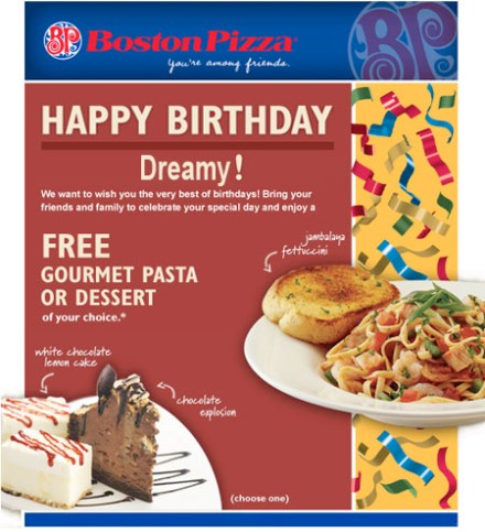 SO ITS YOUR BIRTHDAY TIME TO GET FREE BIRTHDAY GOODIES