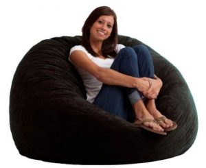 Peachy Adult Size Huge Comfy Bean Bag Chair Only 66 Reg Over Evergreenethics Interior Chair Design Evergreenethicsorg