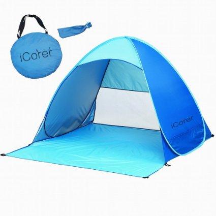 $30 off!! Pop Up Instant Portable Outdoors Quick Cabana Beach Tent Sun Shelter