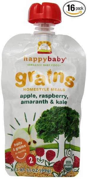 Organic Baby food stage 2 pouches $0.62 each!