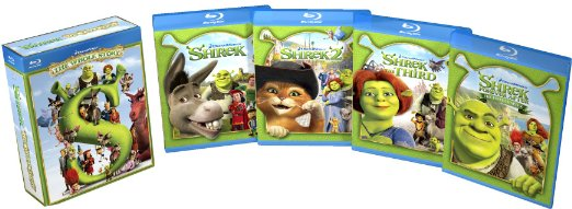 All 4 Shrek movies together for 1 low price – Only $19.99!