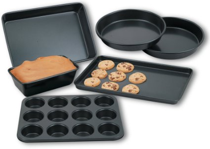 Amazon: Highly Rated! Cook N Home 6-Piece Heavy Gauge Nonstick Bakware Set only $12.74