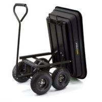 45% off Gorilla Cart - Dump & Pull cart, steel! Only $60!!