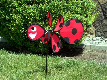 Ladybug Garden Spinner – SO CUTE – only $4!! Not an add-on!