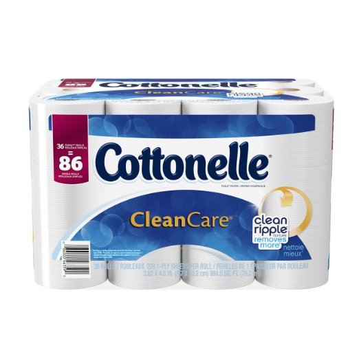 Amazon: Cottonelle Toilet Paper DEAL! 36 rolls for only $16.49 with 20% coupon!!