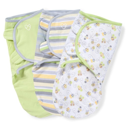 Amazon: Baby shower gift? 3 pack Swaddle pack – neutral colors!