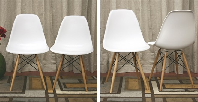 Free Shipping | Modern Shell Chairs | Set of 2 – only $57.50! – Jane.com