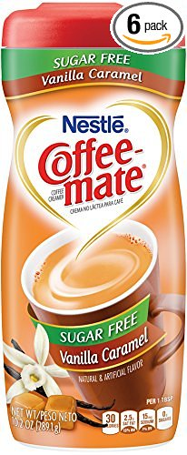 Coffee-mate Vanilla Caramel, Sugar-Free Powdered Coffee Creamer (Pack of 6) – Only $19.88