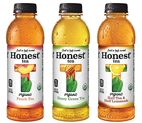 HONEST Tea, Brewed Organic Tea Variety Pack, 16.9 fl oz (Pack of 12) Only $11!