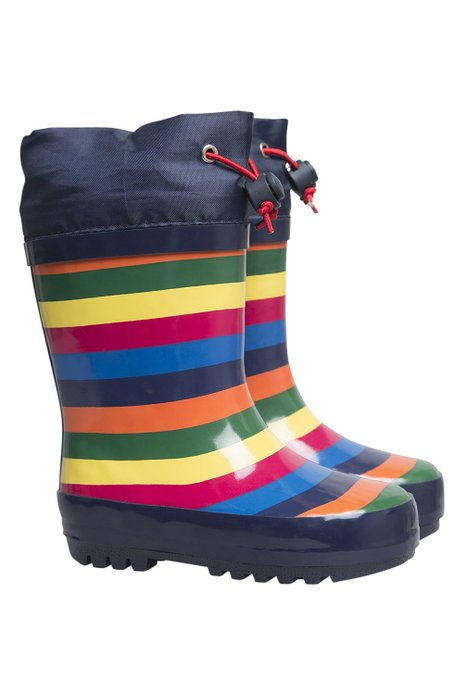 *HOT* Mountain Warehouse Rainbow Winter Junior Wellies Only $10.99 – Sizes 7-11!