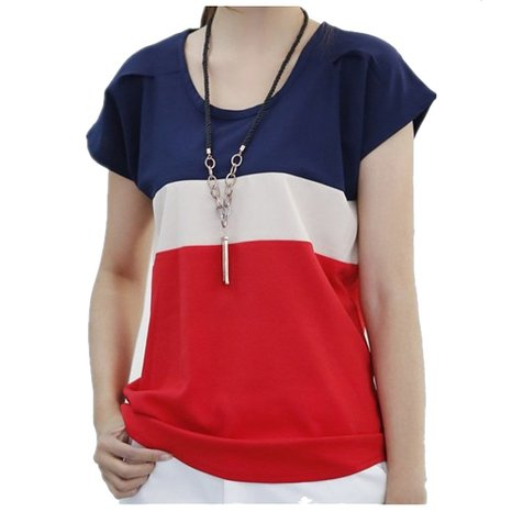 Women Summer Chiffon Sleeveless Blouse Dark Blue – So PRETTY! Only $6 for all sizes + FREE ship!